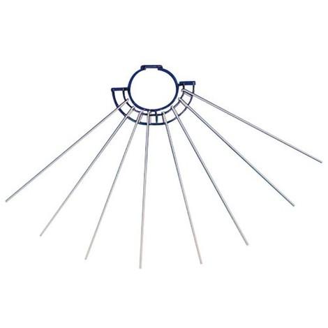 FAVERGE - Séchoir pour tuyau 8 branches - 60 cm