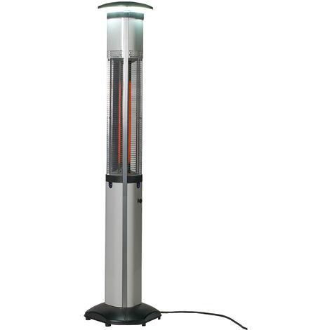 FAVEX - Chauffage Electrique Elegant Eclairant - Acier peint - 3 puissances de chauffe
