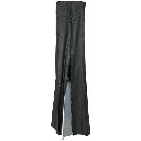 Favex -Housse parasol chauffant Flamme -420 D PVC - Noir - 216 cm