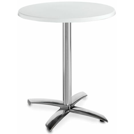 Faypone Flip Top Space Saving Dining, Kitchen Table With Resin Surface, For Use Indoor Or Outdoor