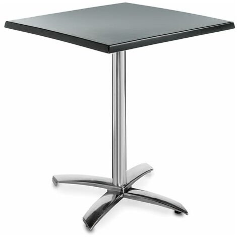 Faypone Flip Top Table - Square Space Saver, Foldaway Square Dining Kitchen Table Indoor Or Outdoors Use