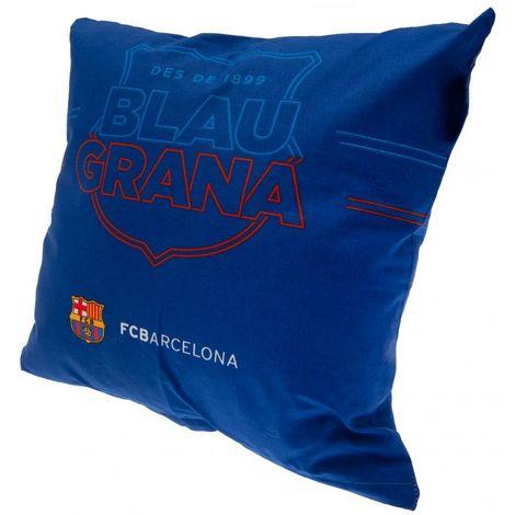 FC Barcelona Cushion (One Size) (Blue)