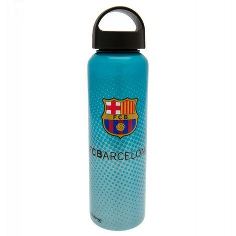 FC Barcelona Dotted Crest Drinks Bottle (One Size) (Blue)