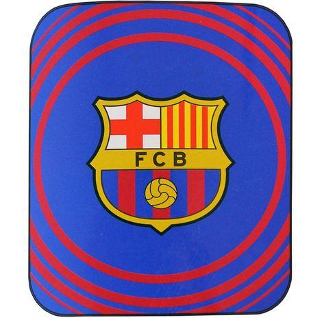 FC Barcelona Pulse Fleece Blanket (One Size) (Blue/Red)