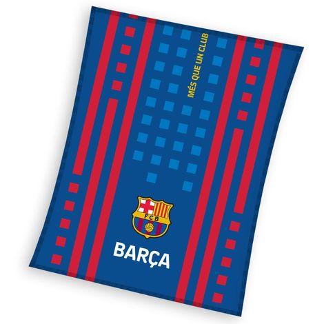 FC Barcelona SD Fleece Blanket (One Size) (Blue)