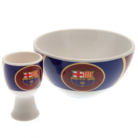 FC Barcelona Unisex Adult Breakfast Set (One Size) (White/Blue/Maroon)