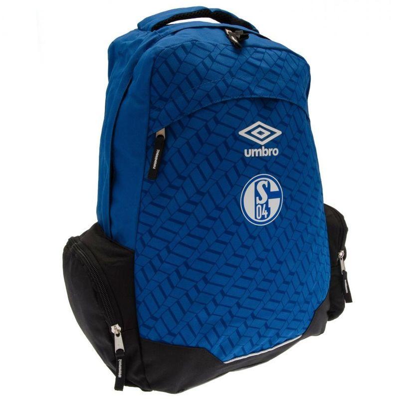 Image of Umbro Backpack (One Size) (Blue) - Fc Schalke
