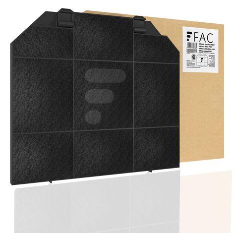 FC01 - Filtre à charbon compatible hotte Faber 5403013 6093168