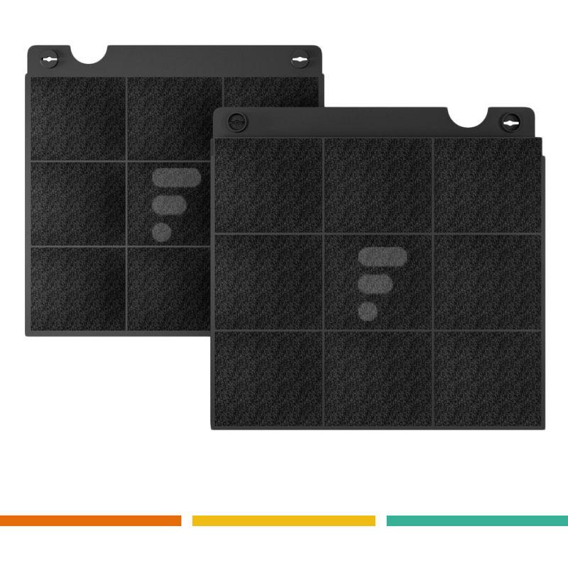 FC02 - filtre à charbon compatible hotte AKR 757 IX 857875701000 AKR559 AKR558 - Whirlpool