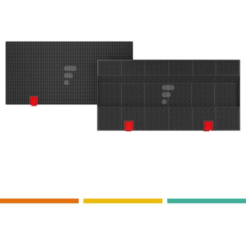 FC08 - Filtre à charbon compatible hotte Elica Mod. 150, cod. F00171/S