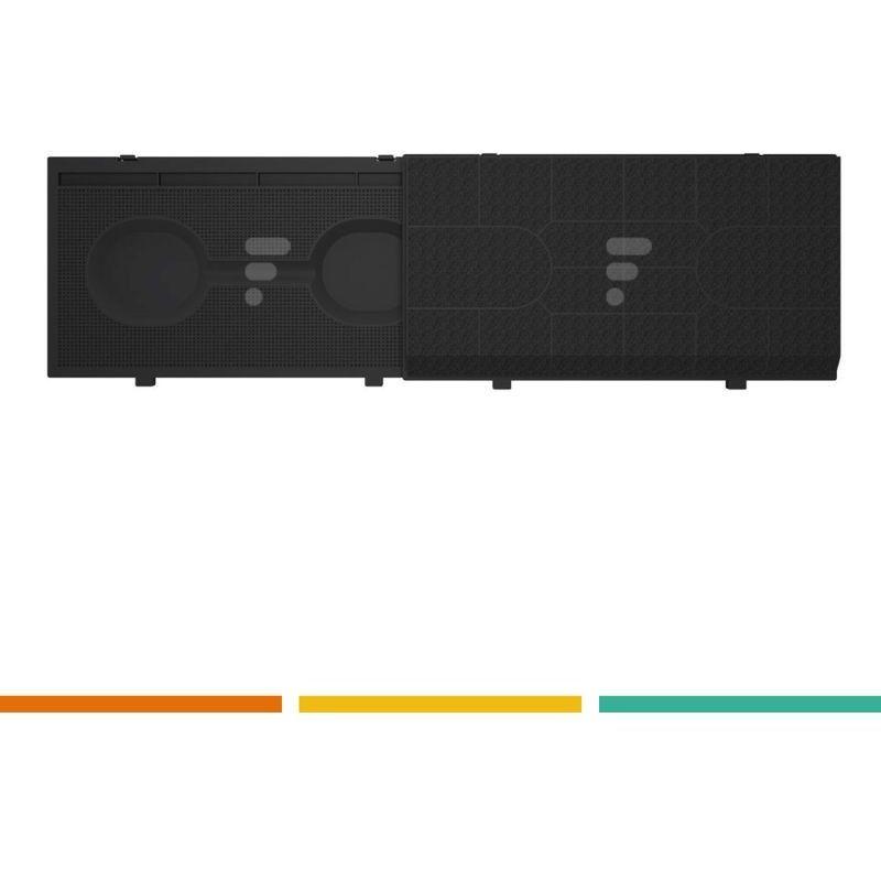 FC09 - Filtre à charbon compatible hotte Elica Mod. 190, cod. F00159/S