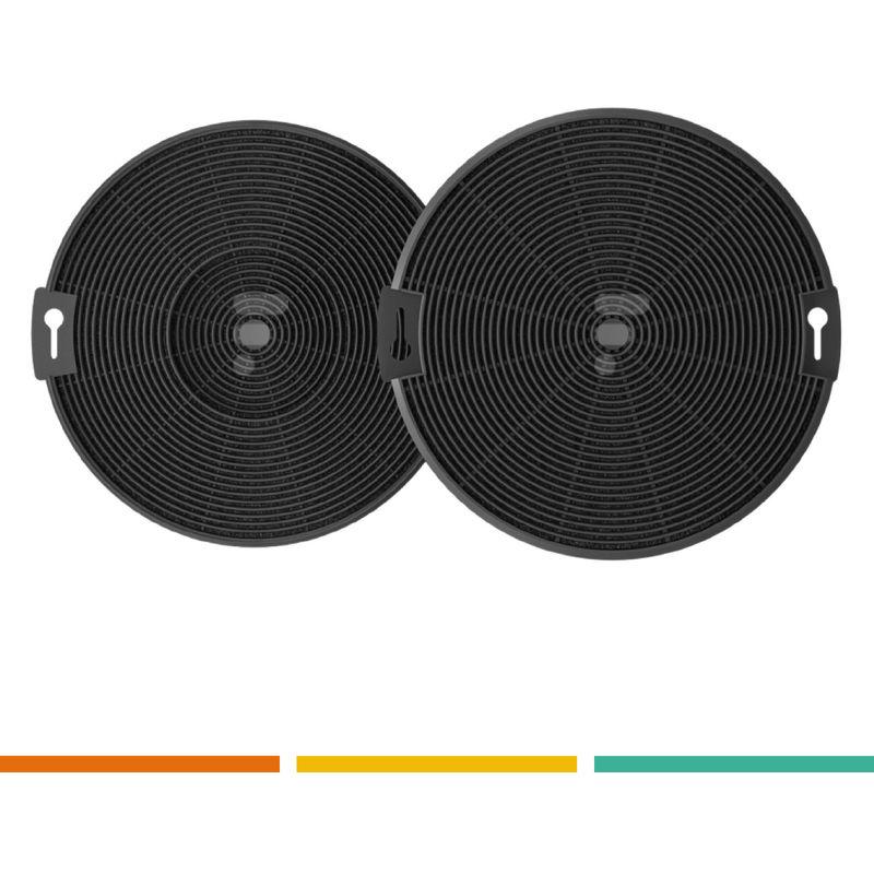 FC15 - filtre à charbon compatible hotte AHT63WH - Airlux