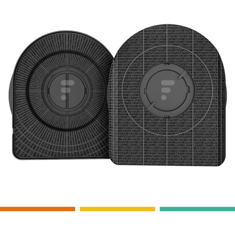 FC18 - Cassette filtre charbon type 200 (dkf42) hotte whirlpool akr920ix