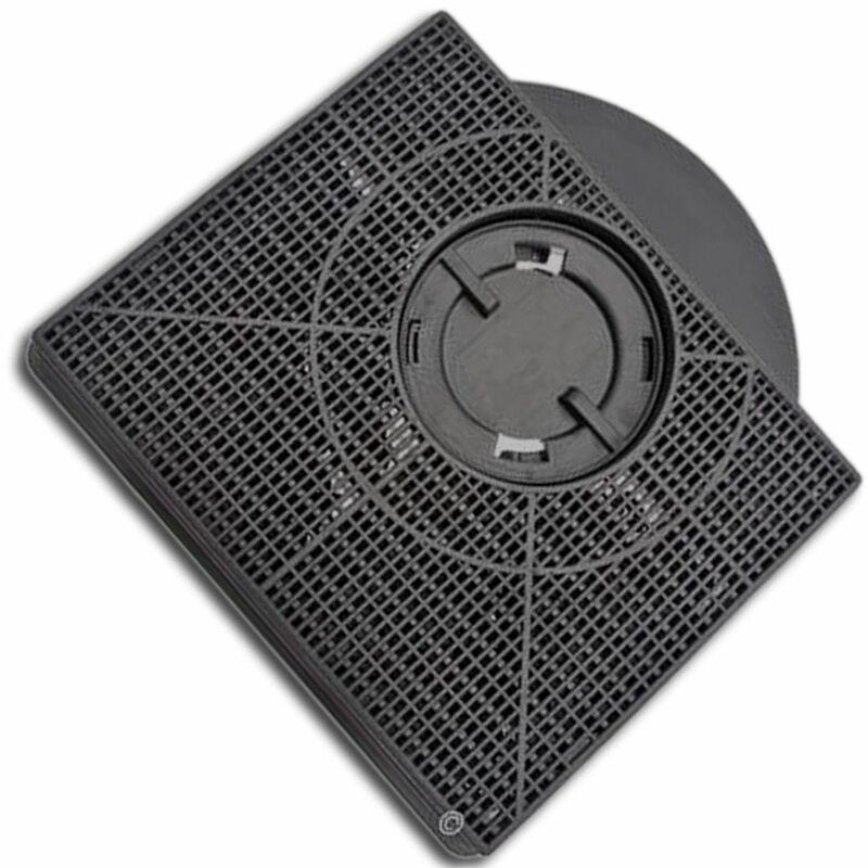 Filtre charbon rectangulaire FAT303 type 303 (à l'unité) (46581-1906) (AMC895 CHF303) Hotte WHIRLPOOL, IKEA WHIRLPOOL, SCHOLTES, FAGOR, FAURE,