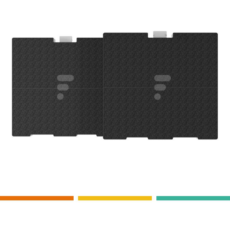 FC24 - Filtre à charbon compatible hotte Bosch DWW067A50