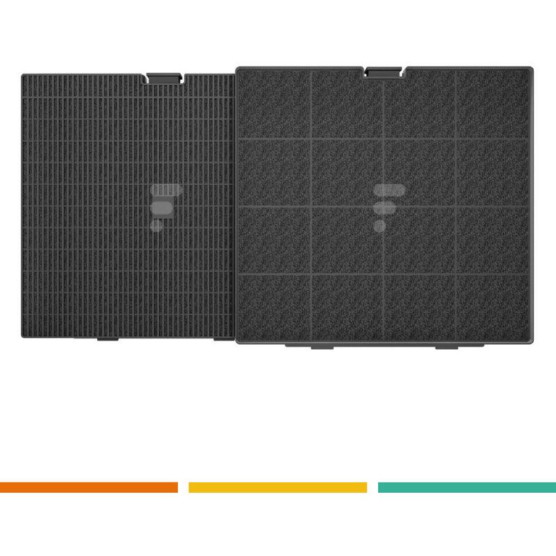 FC25 - filtre charbon BEST CA240S 241X225X30 pour AFC9003W et broan, teka