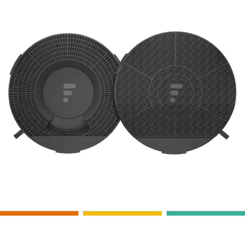 FC28 - Filtre à charbon compatible hotte Elica Mod. 28, cod. F00173/S