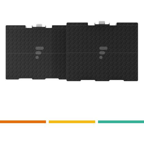 FC31 - Filtre à charbon actif compatible hotte aspirante Siemens LZ53451