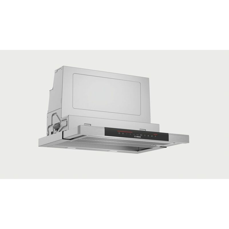 hotte télescopique 60cm 700m3/h inox - dfs067k50 - Bosch
