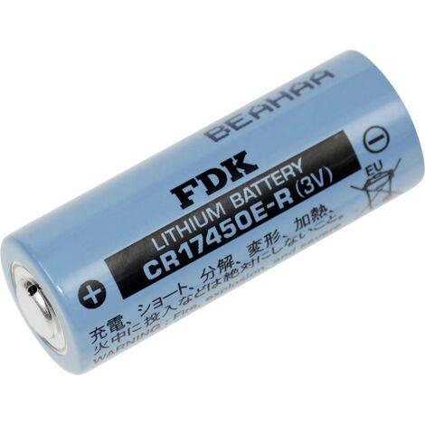 FDK CR17450ER Spezial-Batterie 17450hochstromfähig, hochtemperaturfähig, tieftemperaturfähig Lith D623621