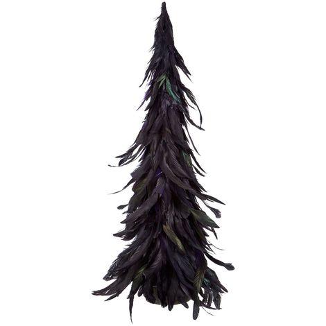 Featherand new tree, dark purple