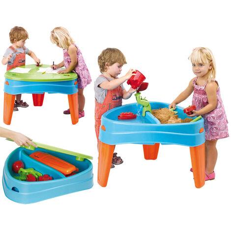 Feber Table de jeu sable et eau