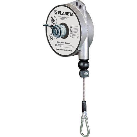Federzug TCN 9312 Trgf.1-2kg Seillänge 1,6m Seil-D.2,0mm PLANETA