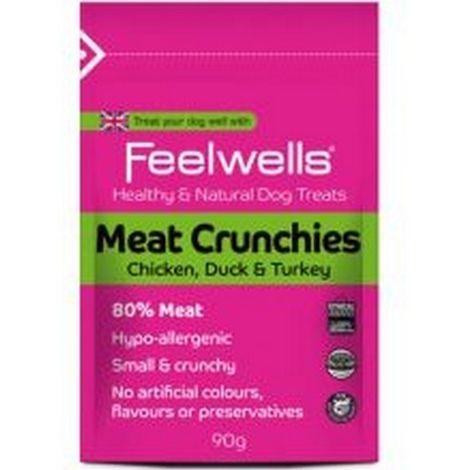 Feelwells Meat Crunchies Dog Treats (90g) (May Vary)
