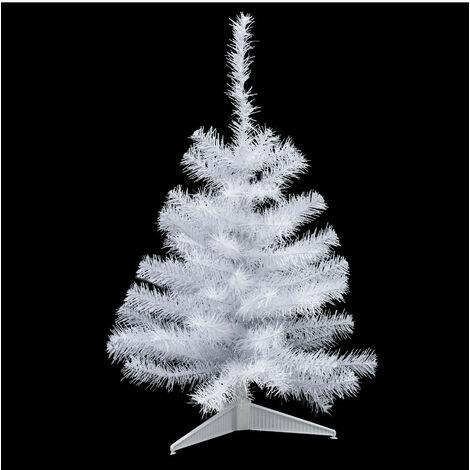 Feeric Christmas - Arbre de Noël Sapin artificiel Blanc H 70 cm
