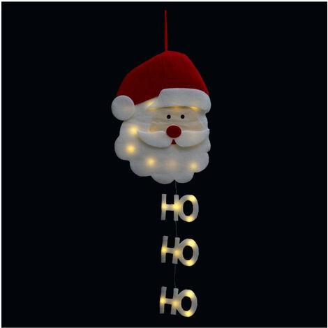 Feeric Christmas - Décoration de Noël Père Noël Lumineux à suspendre H 50 cm