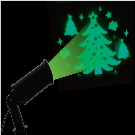 Feeric Christmas - Projecteur extérieur à LED Sapin à lumière fixe