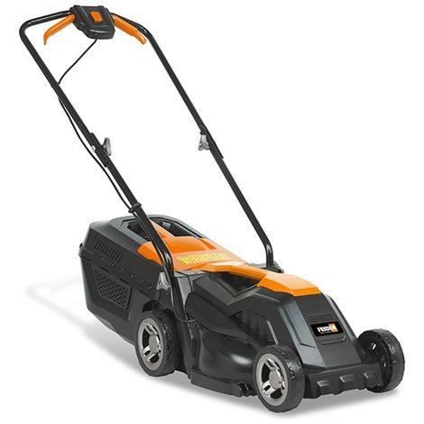 Feider Electric Roller Mower- 1200W / 230V 33cm Push Rotary Rear Roller Lawnmower - New 2020 Model - FTDE1200R