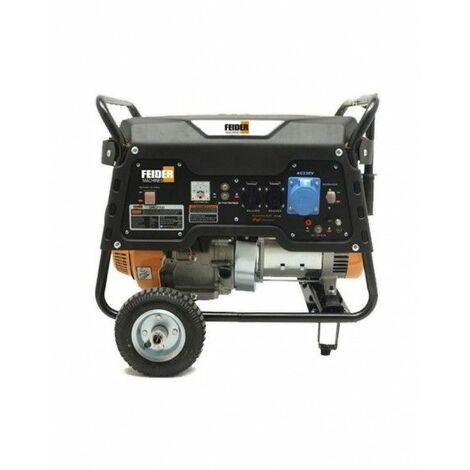 FEIDER Generador 6500 vatios con kit de ruedas - FGPRO7000R-A