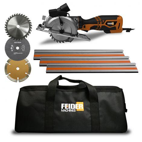 FEIDER Scie Plongeante Multi-matériaux 710W 115mm FRX710