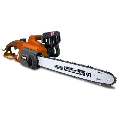 FEIDER Tronçonneuse électrique 2200 W 40.6 cm - Guide et chaîne Oregon FTRE2240