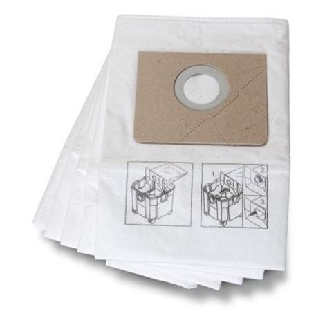 FEIN 31345062010 FLEECE FILTER BAG 35L PK5