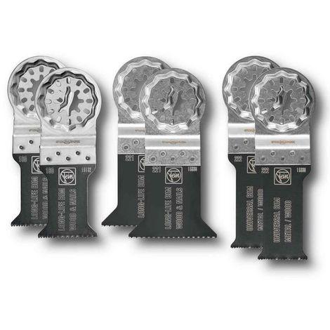 "main image of ""Fein 35222952300 6pc Starlock Plus Best of E-Cut Accessory Set"""