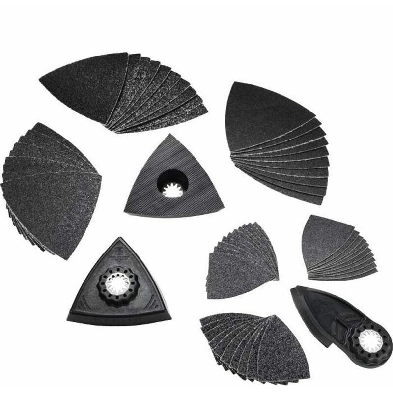 Image of Fein 35222967040 Best of Starlock 63 Piece Sanding MultiTool Accessories