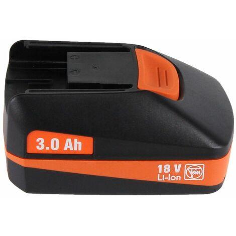 FEIN ABS 18 Q Perceuse-visseuse sans fil 18V 60Nm Interface QuickIN ( 71132264000 ) + Coffret de transport + 1 x Batterie 3,0 Ah - sans Chargeur