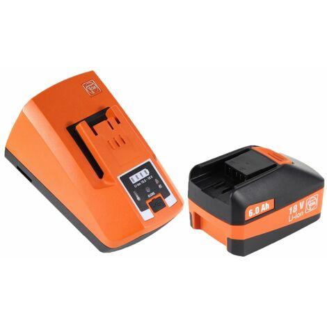 FEIN ABS 18 Q Perceuse-visseuse sans fil 18V 60Nm Interface QuickIN ( 71132264000 ) + Coffret de transport + 1 x Batterie 6,0 Ah + Chargeur rapide