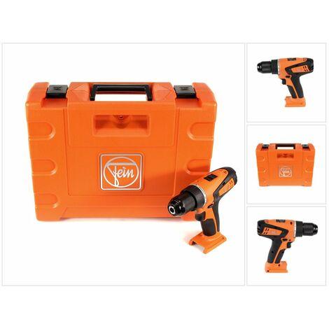 FEIN ABSU 12 Select Taladro atornillador a batería 12V de 2 velocidades en maletín de transporte - Sin batería, sin cargador incluidos ( 71132064000 )
