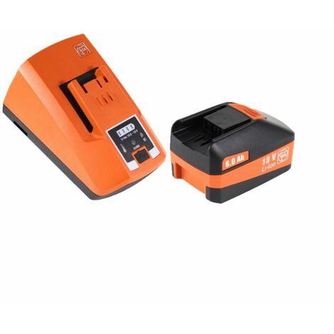 FEIN ASCD 18-200 W4 Visseuse à chocs sans fil 210 Nm 18V ( 71150764000 ) Set + Coffret de transport + 1x Batterie 6,0 Ah High Power + Chargeur