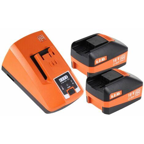 FEIN ASCM 18 QM Perceuse-visseuse sans fil - 4 vitesses 18V 90Nm ( 71161164000 ) Set + Coffret de transport + 2x Batteries 6,0 Ah + Chargeur