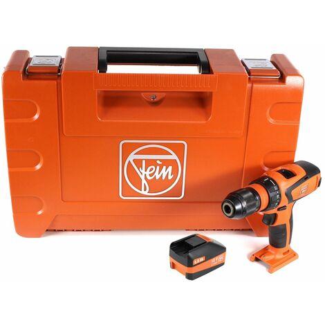 FEIN ASCM 18 QSW Perceuse-visseuse 4-vitesses 18V 40Nm ( 71161264000 ) Set + Coffret de transport + 1x Batterie 6,0 Ah - sans chargeur