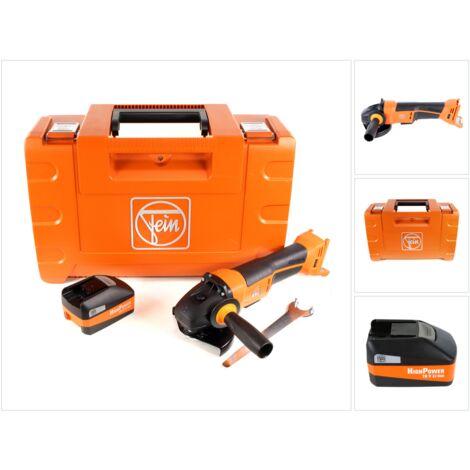 FEIN CCG 18-125 BLPD Meuleuse d'angle sans fil 125 mm avec Coffret + 1x Batterie 5,2 Ah High Power - sans Chargeur