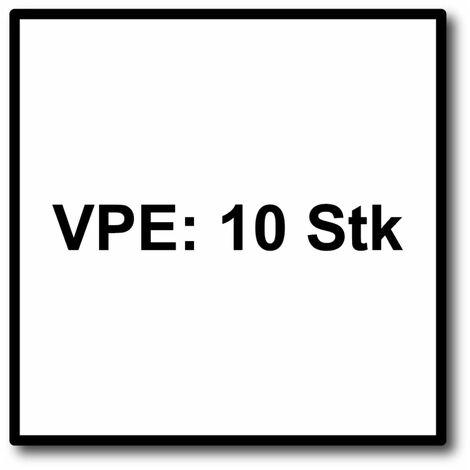 FEIN E-Cut Precision Starlock Lame de scie 10 pièces. 50 x 35 mm ( 63502205240 ) BI-métal