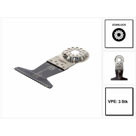 Fein E-Cut Starlock Plus Lame de scie de précision 50x65 mm - Acier HCS, 3 pcs. ( 63502230220 )