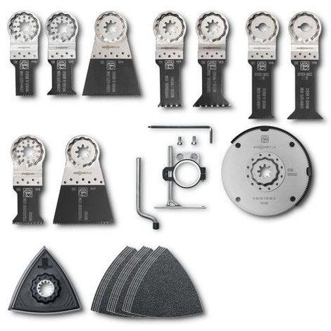 design élégant magasin britannique économiser jusqu'à 60% FEIN FRANCE Set d'accessoires Second oeuvre bois - 35222946010
