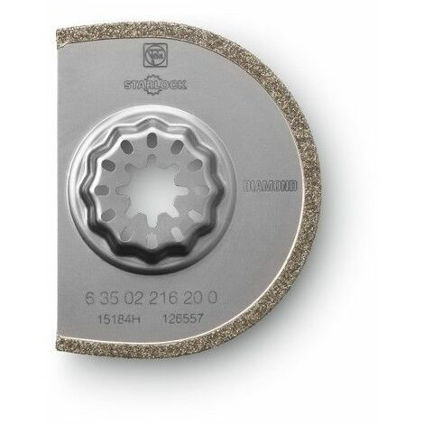 """main image of """"Lame de scie diamantée 75 mm Fein 63502216210"""""""