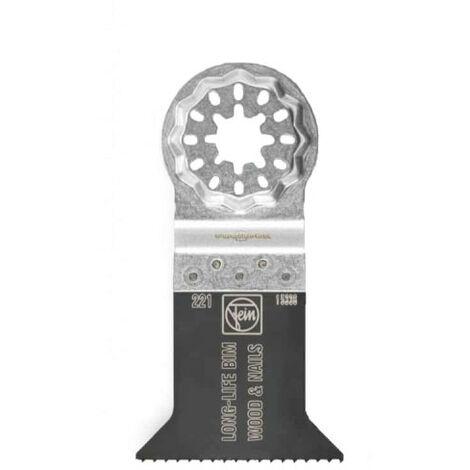 Fein Lame de scie E-Cut Long Life, Longueur 50 mm, Largeur 50 mm, 50 Pce, Porte-outil SL - 63502221250